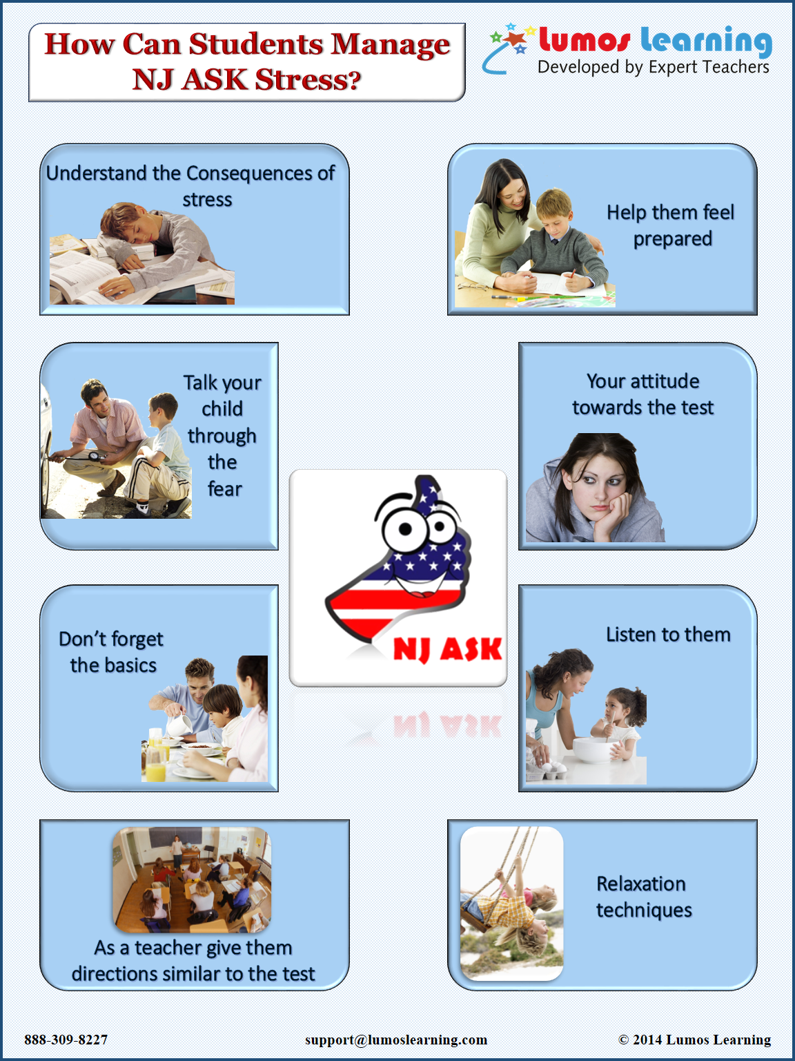 How students can manage NJ ASK stress