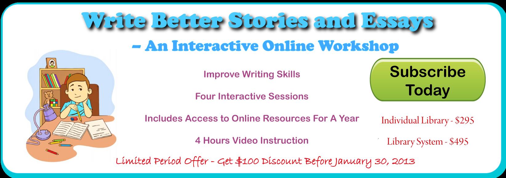 Write Better Workshop Banner