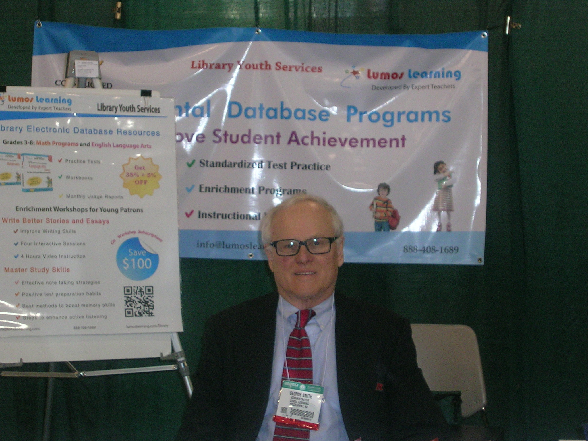 George Smith of Lumos Learning @ 2014 ALA Mid-Winter Meeting