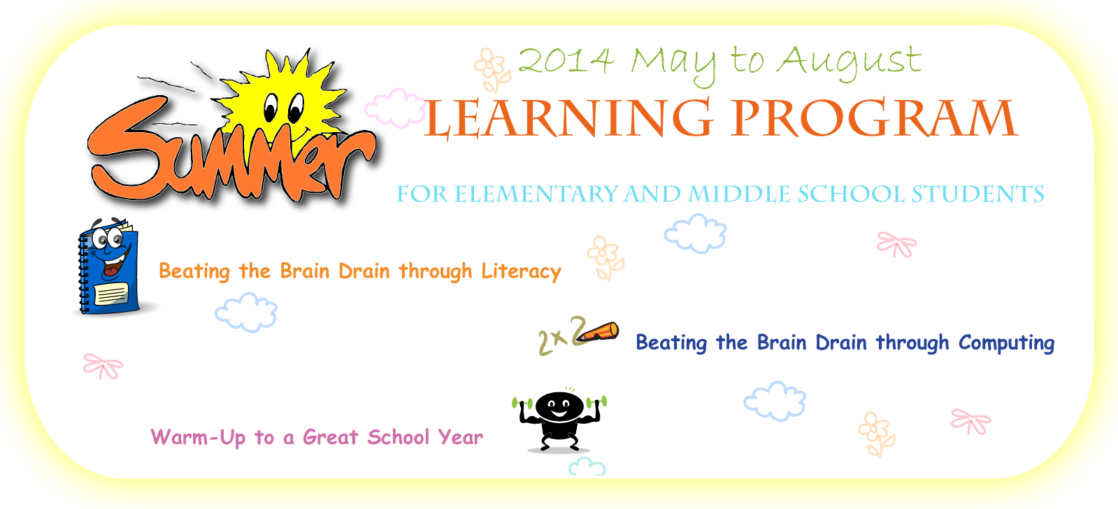 Beat the Summer Brain Drain - An Interactive and fun Workshop