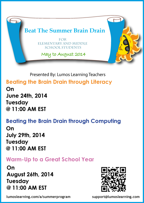 Summer Program Promo Flyer