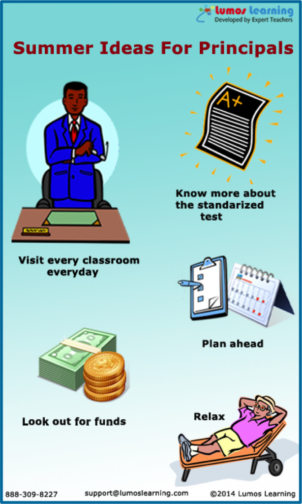 Summer Ideas for the Principals