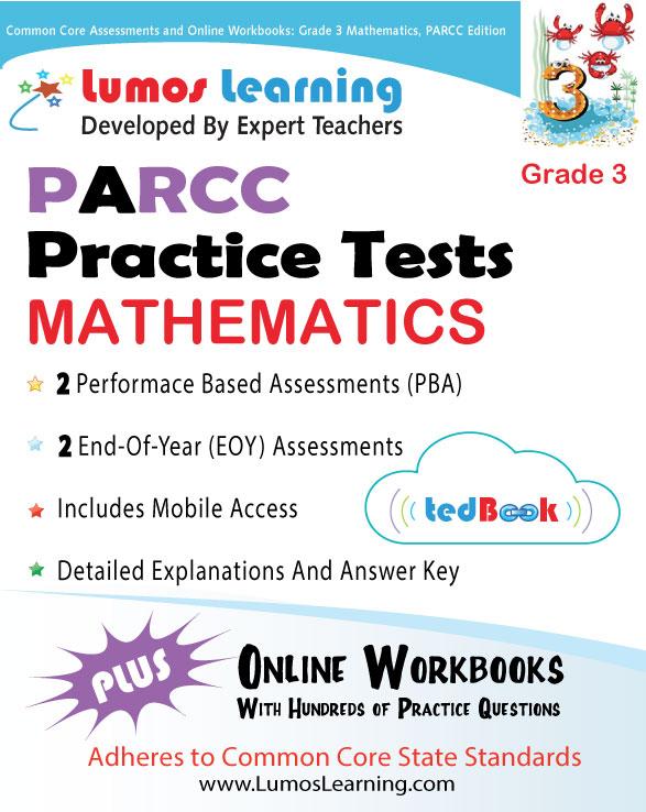 Lumos tedBook™ School Edition: Math for PARCC