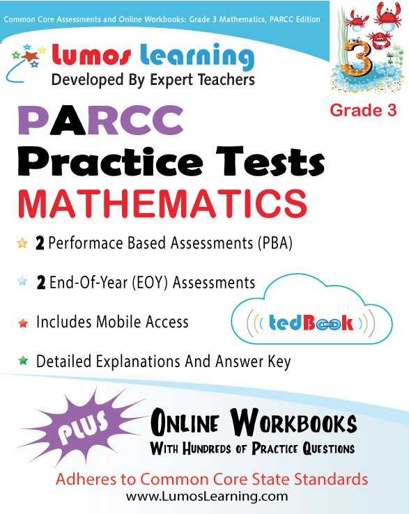 Lumos tedBook™ School Edition: Math for PARCC