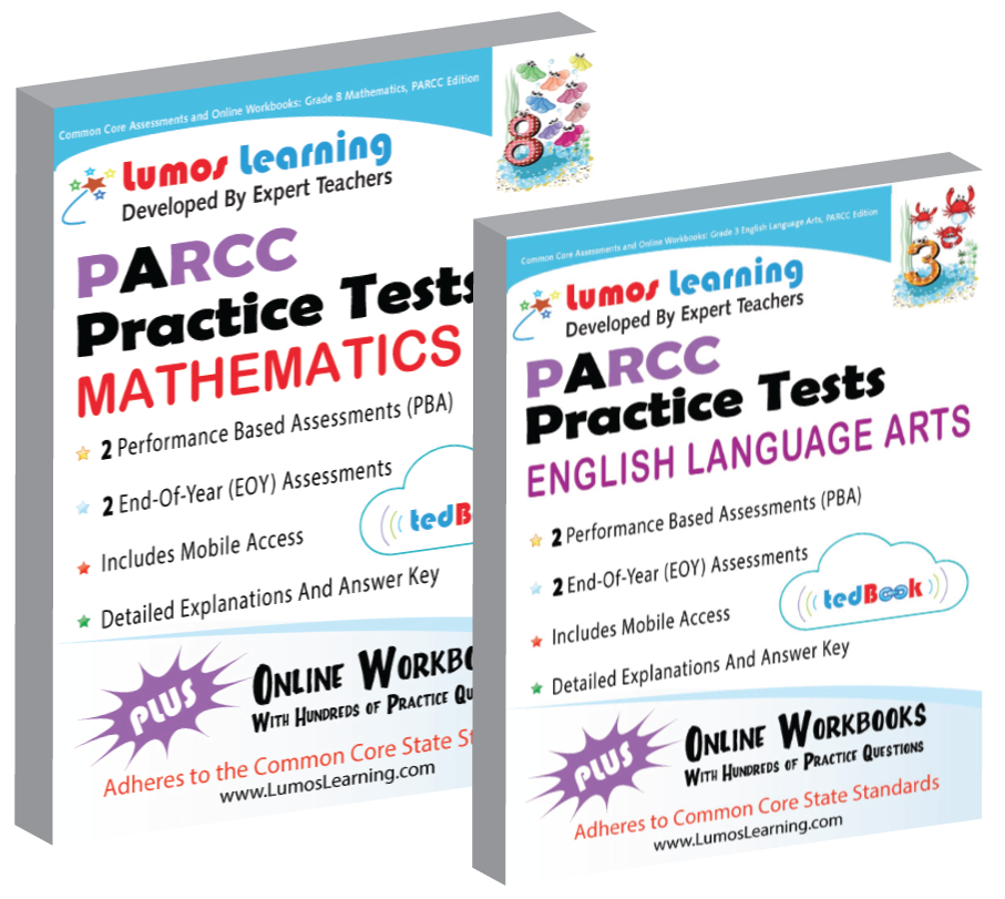 Lumos tedBook™ School Edition: English Language Arts for PARCC