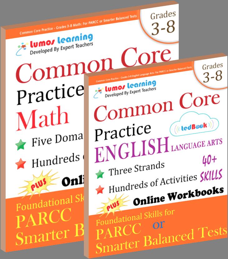 Common core practice math English tedbooks