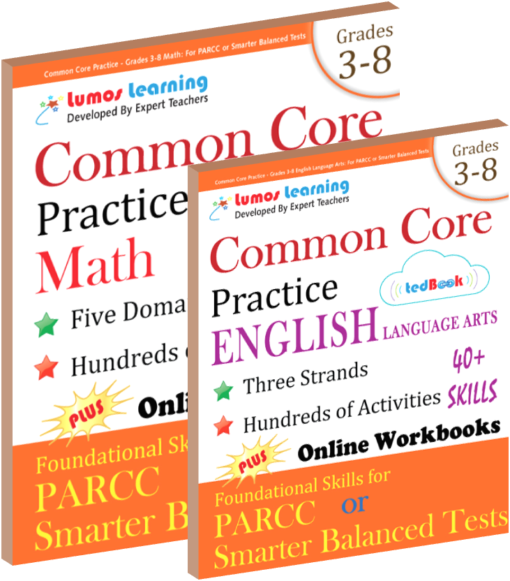 Lumos tedBook™ School Edition for Common Core Practice