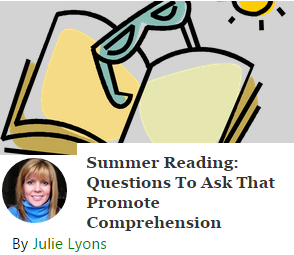 summer learning - comprehension questions