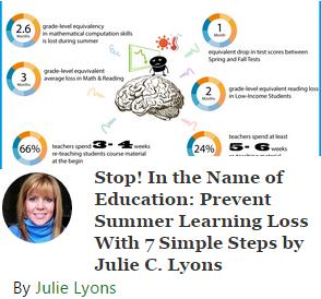 beat summer learning loss: 7 steps