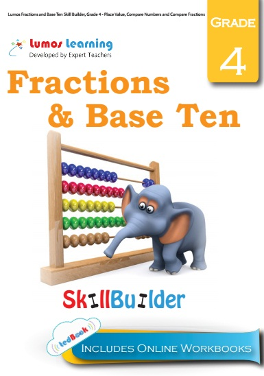 fraction and base ten grade 4