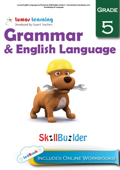 Grade 5 Grammar and Language