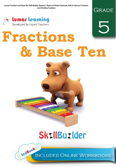fraction and base ten grade 5