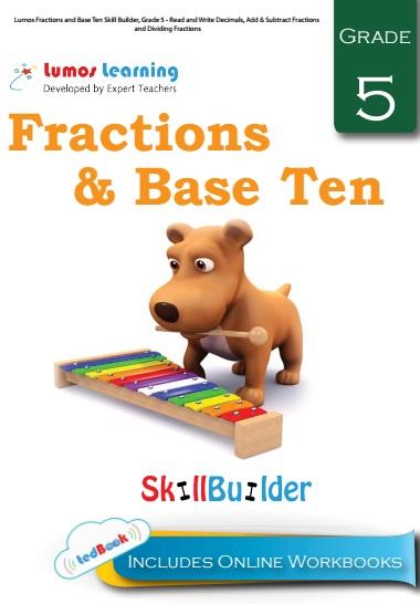 fraction and base ten grade 5