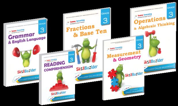 Math and English SkillBuilder tedBooks