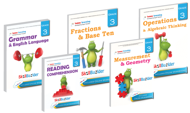 Math and English SkillBuilder tedBooks