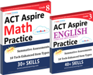 act aspire practice workbooks