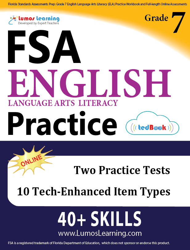 Grade 7 FSA English Language Arts Practice