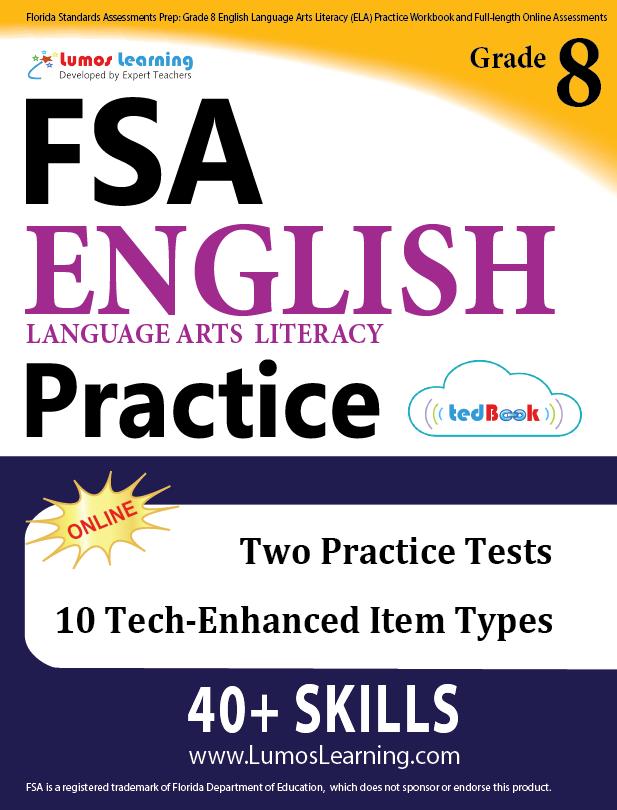 Grade 8 FSA English Language Arts Practice
