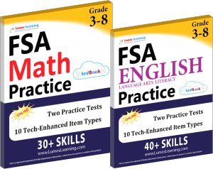 Printed Practice Workbooks and Online Practice Tests for florida assessment