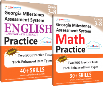 GMAS test prep workbooks