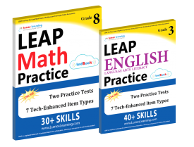 LEAP Test Prep Workbooks