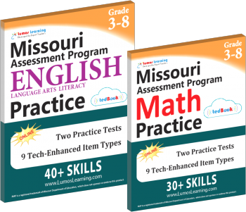 Missuori Assessment Practice Workbook Sample