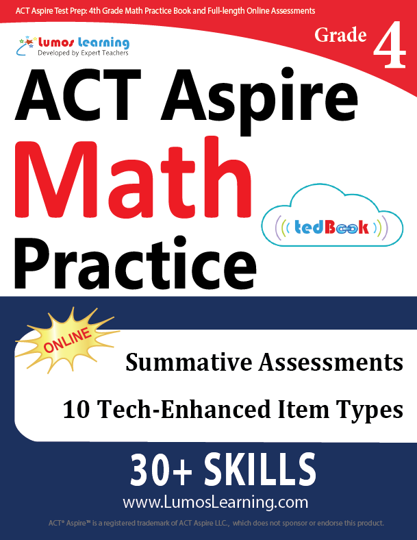 Grade 4 ACT Aspire Mathematics