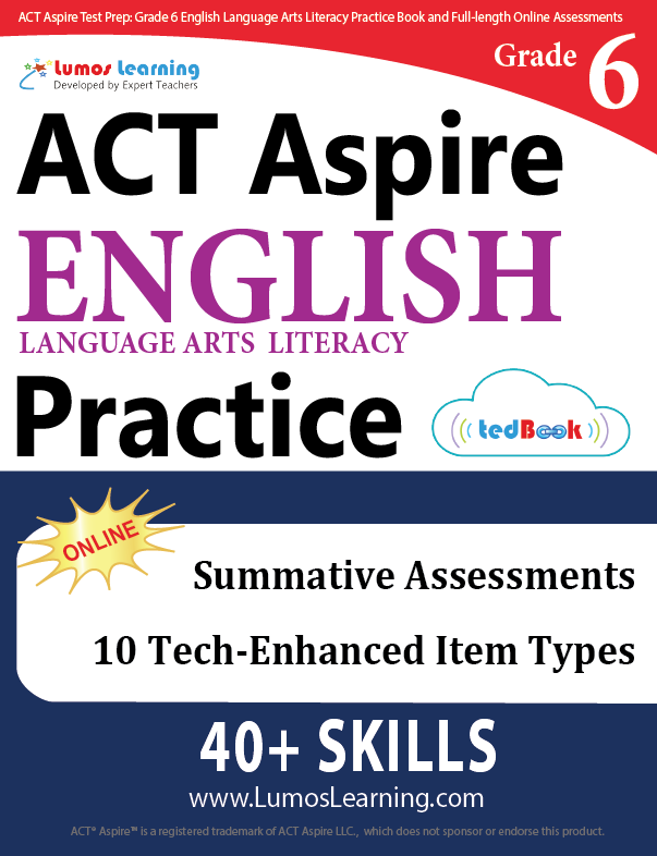 Grade 6 ACT Aspire English Language Arts Practice