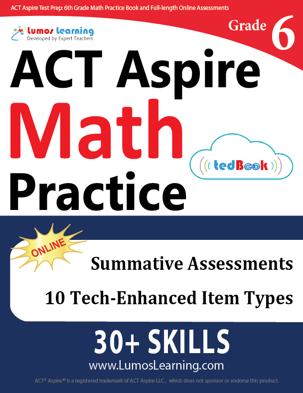 Grade 6 ACT Aspire Mathematics