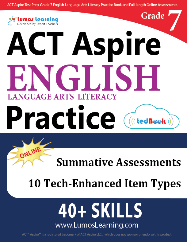 Grade 7 ACT Aspire English Language Arts Practice
