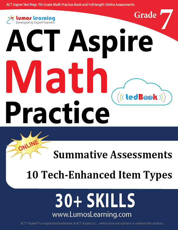 Grade 7 ACT Aspire Mathematics