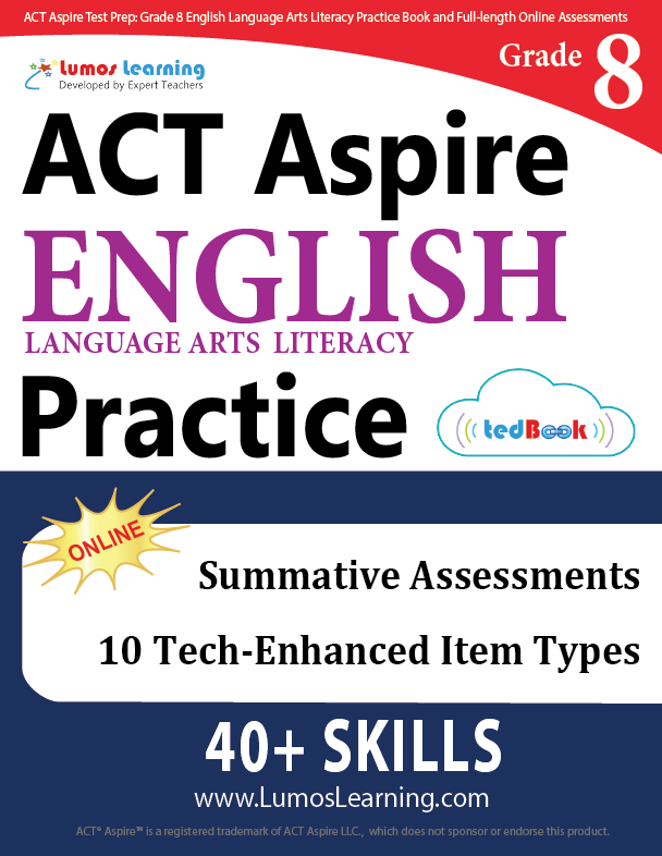 Grade 8 ACT Aspire English Language Arts Practice