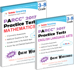 parcc practice test online workbook