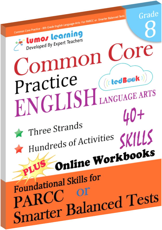 Grade 8 Common Core Practice English Language Arts Practice