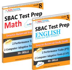 Smarter Balanced Test Prep Workbooks