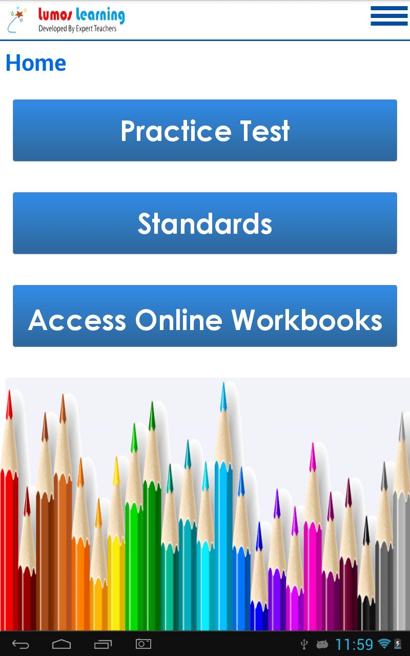 Screenshot of the Lumos StepUp™ App