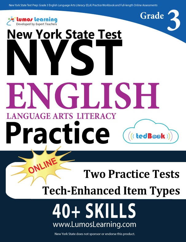 Grade 3 ELA NYST tedbook sample