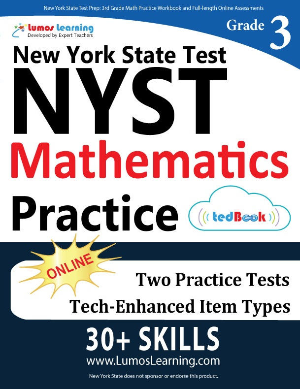 Grade 3 Math NYST tedbook sample