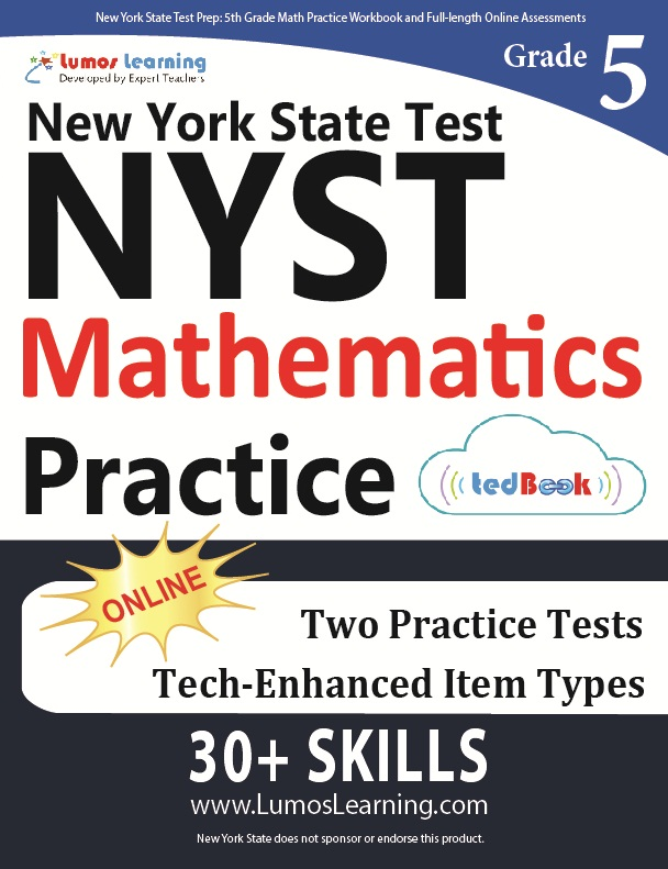 Grade 5 Math NYST tedbook sample