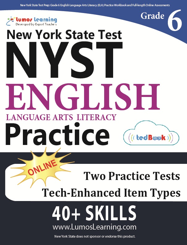 Grade 6 ELA NYST tedbook sample