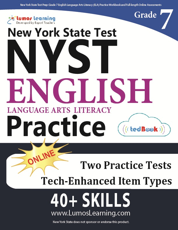 Grade 7 ELA NYST tedbook sample
