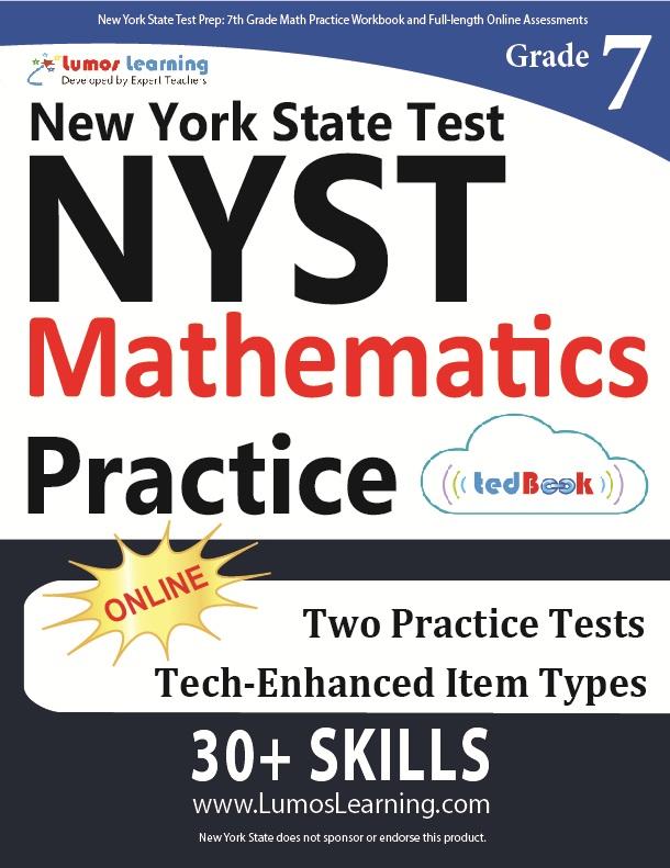 Lumos Grade 7 New York State Test Practice tedbook (NYST