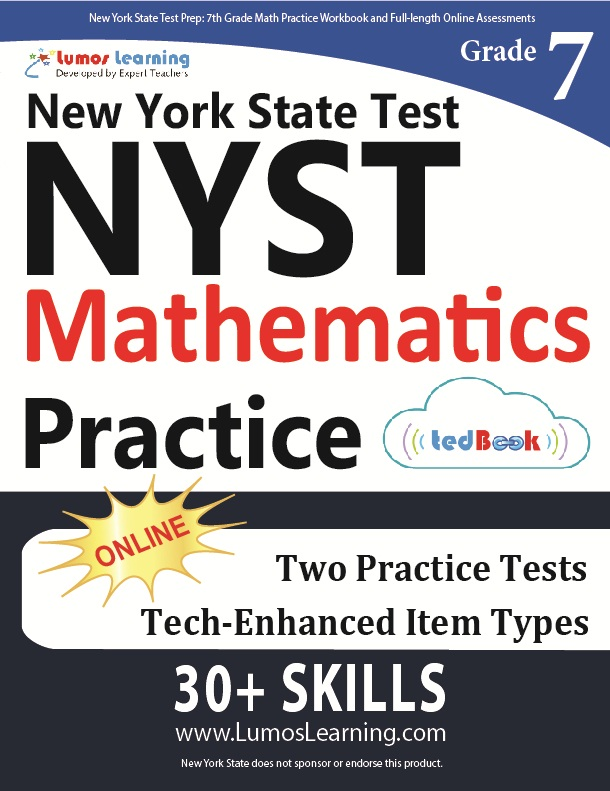 Grade 7 Math NYST tedbook sample
