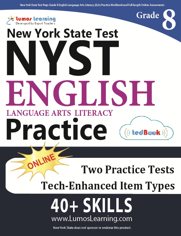 Grade 8 Math NYST tedbook sample