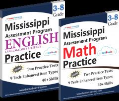 PARCC Practice Workbook Sample