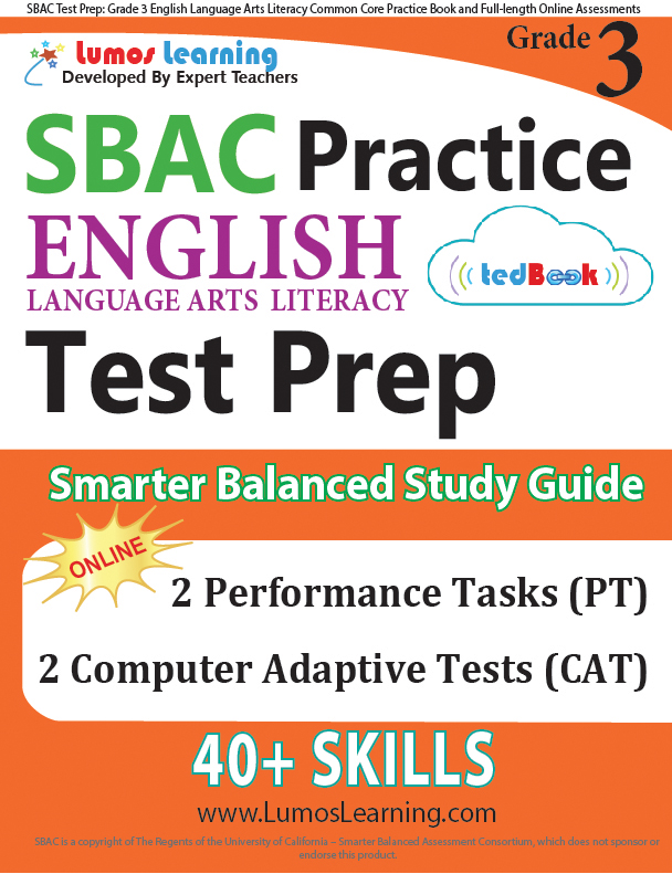Grade 3 SBAC English Language Arts