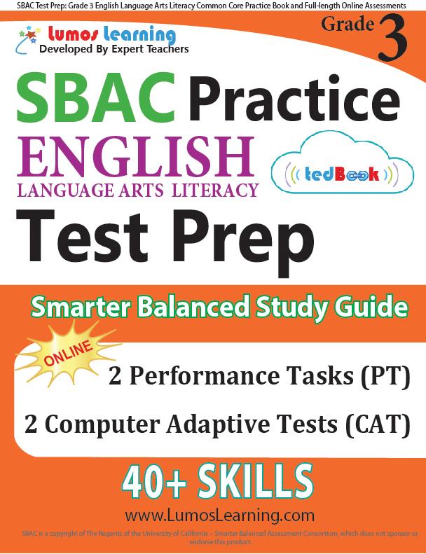 Grade 3 SBAC English Language Arts