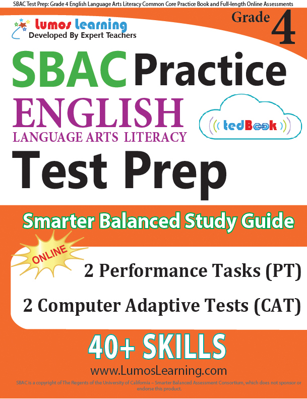 Grade 4 SBAC English Language Arts Practice