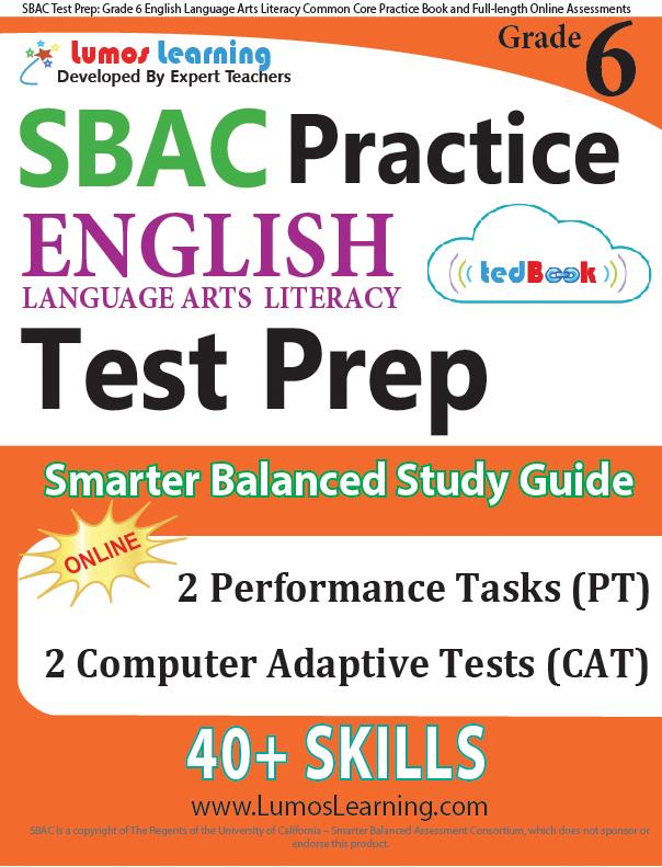 Grade 6 SBAC English Language Arts Practice
