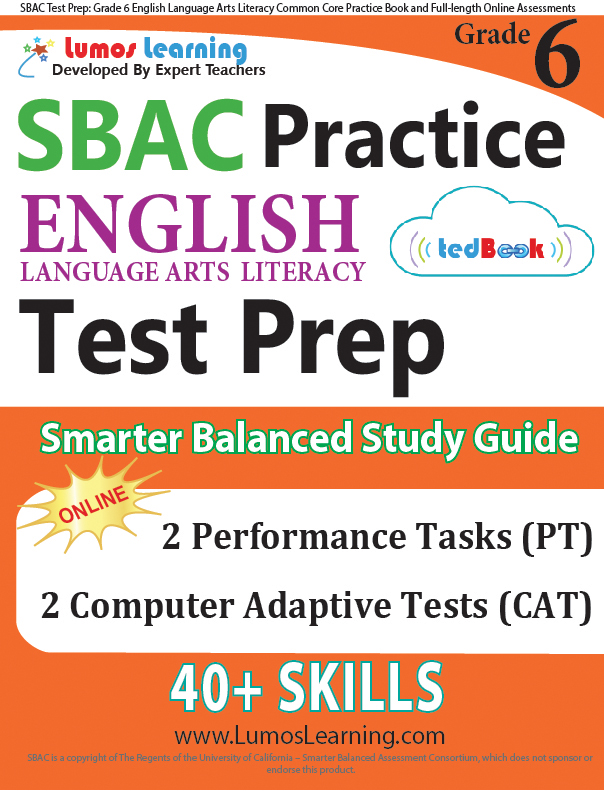 Grade 6 SBAC English Language Arts Practice